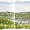 Blick vom Rotenberg ins Neckartal
