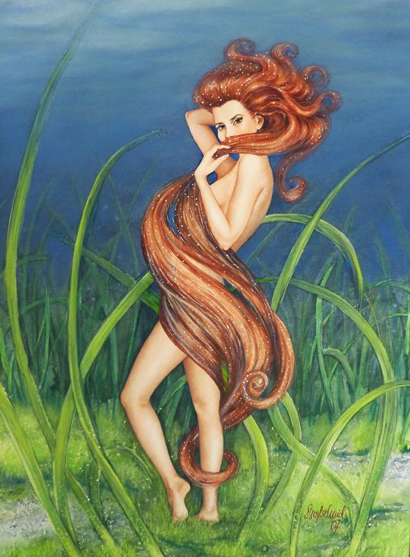 Mermaid Hippocampia - Seepferdchen