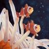 Anemonenfische - Aquarell