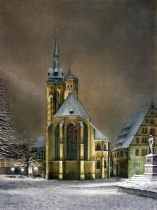 Grusskarte Andacht Stiftskirche (Stuttgart)