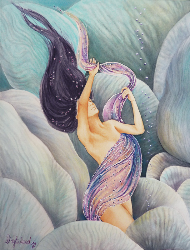 Mermaid Vir Fine-Art-Print