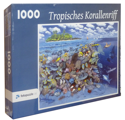 Puzzle 1000 Teile: Tropisches Korallenriff