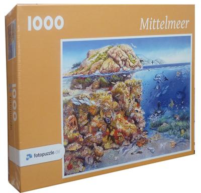 Puzzle 1000 Teile: Mittelmeer