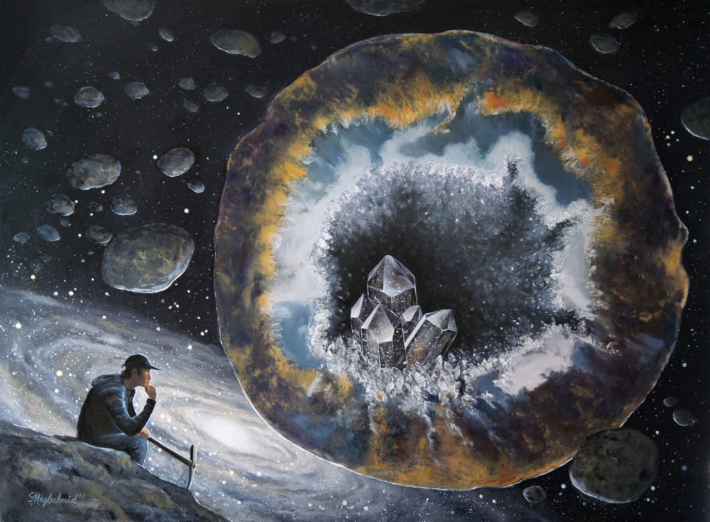 Der Asteroidenfänger Fine-Art-Print