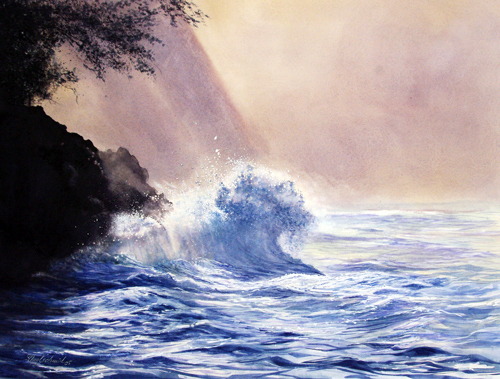 Die Welle (Hawaii USA) Fine-Art-Print