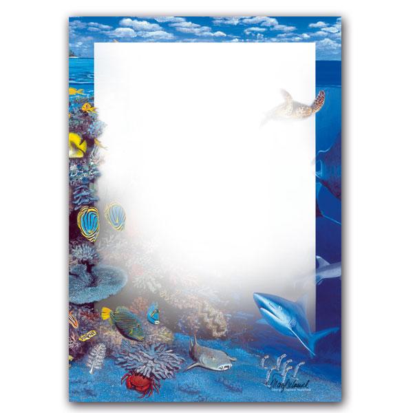 Schreibblock: Korallenriff