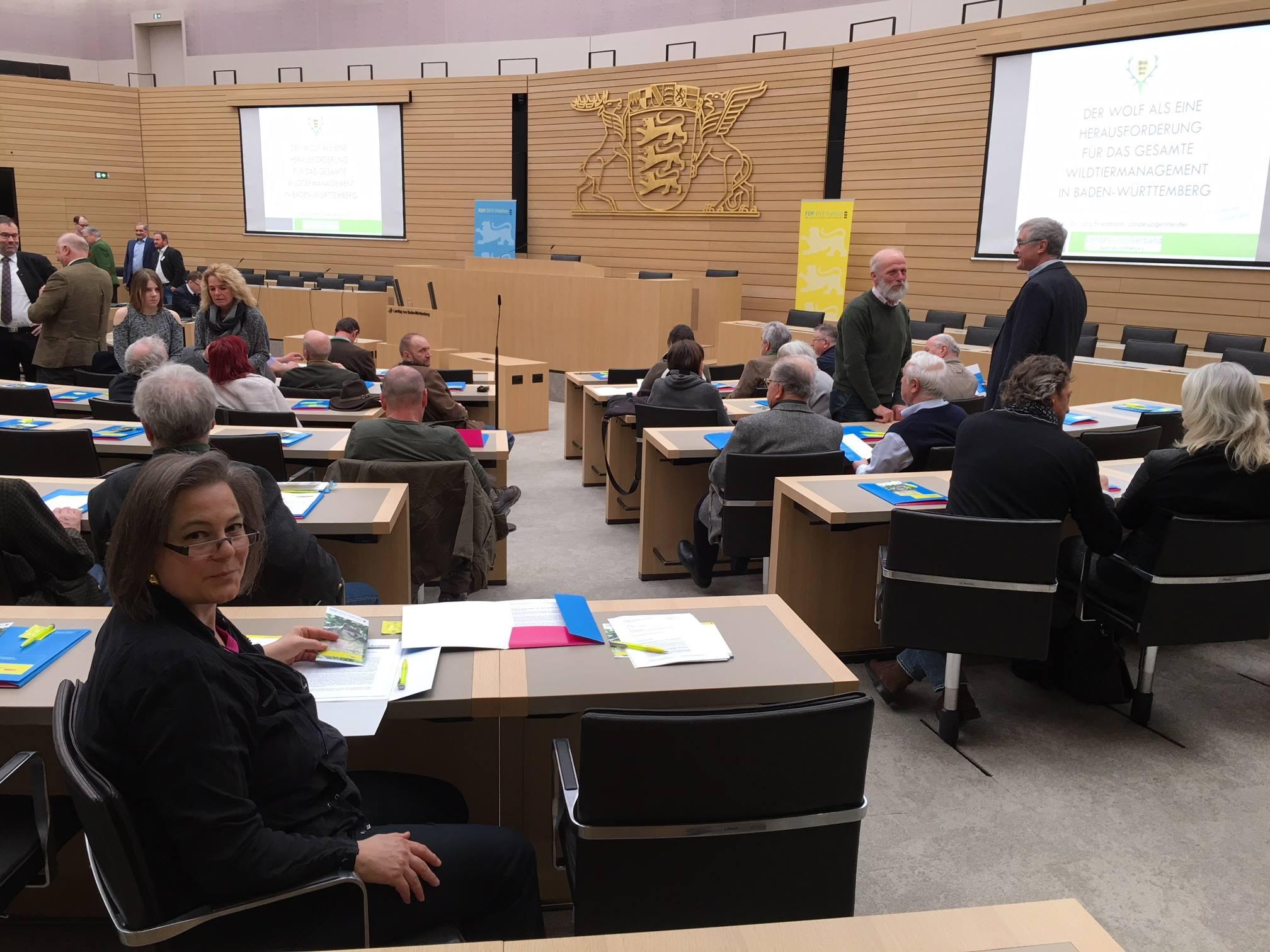 Diskussion im Stuttgarter Landtag: Der Wolf