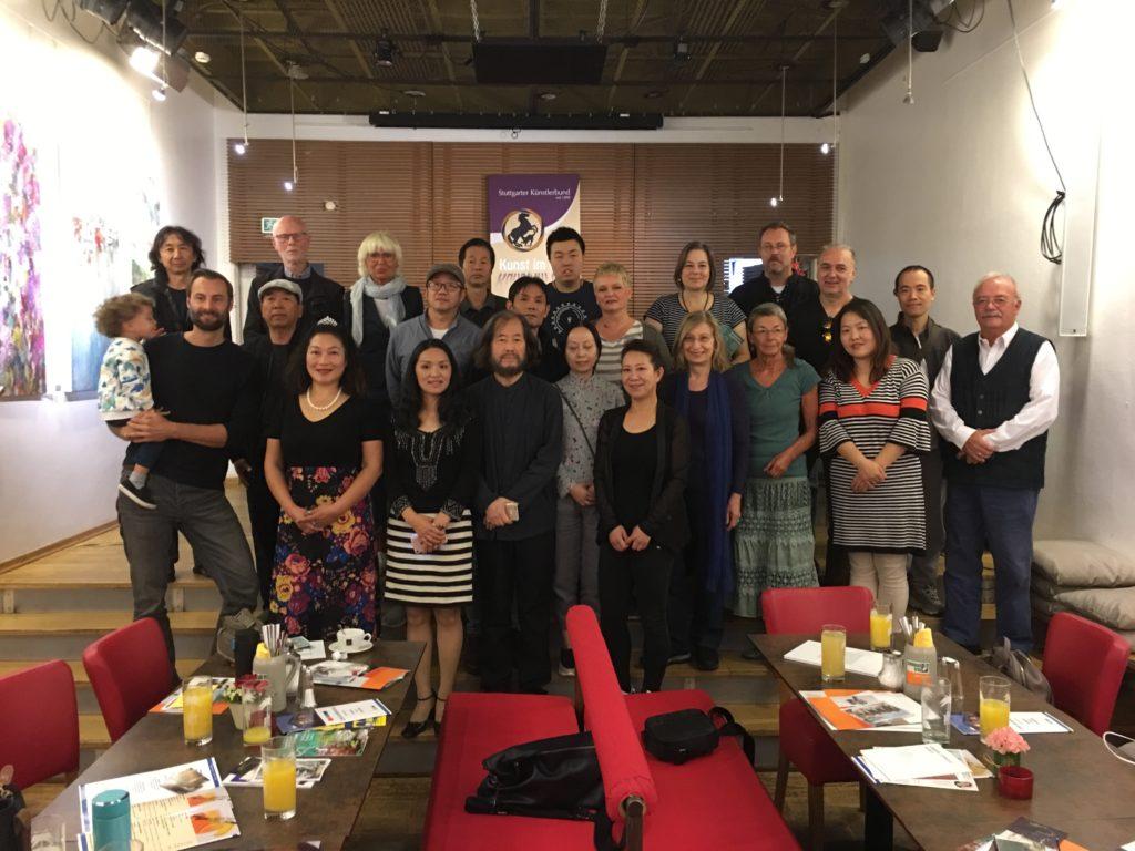 Treffen mit chinesischen Künstlern