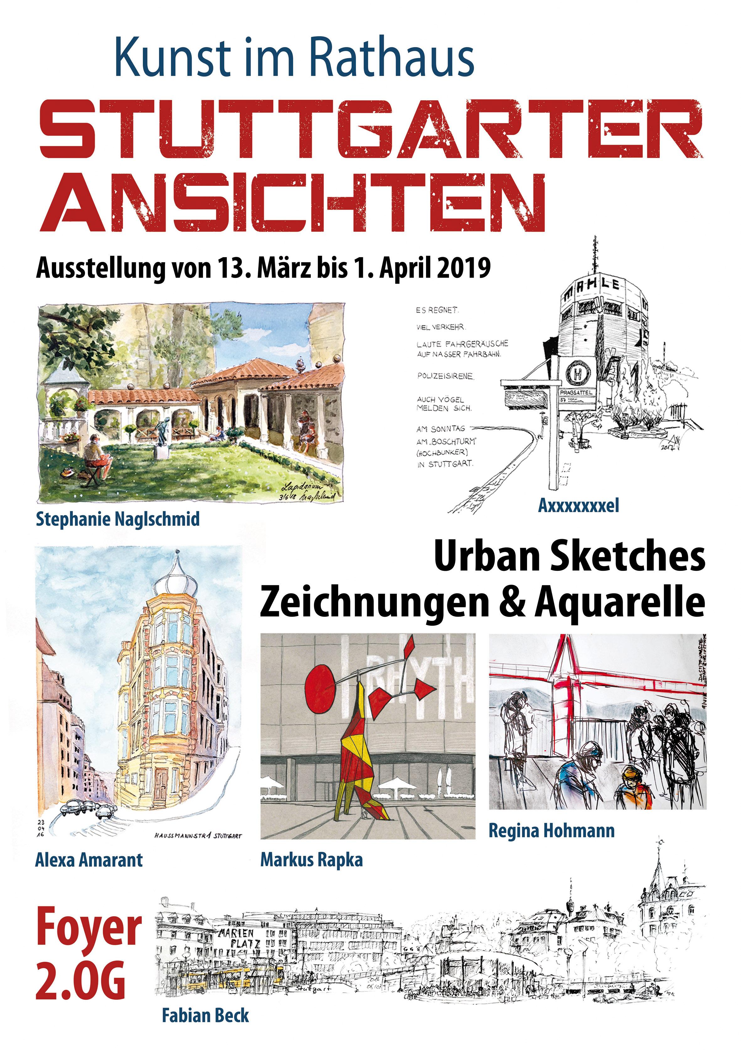 Ausstellung Rathaus Stuttgart