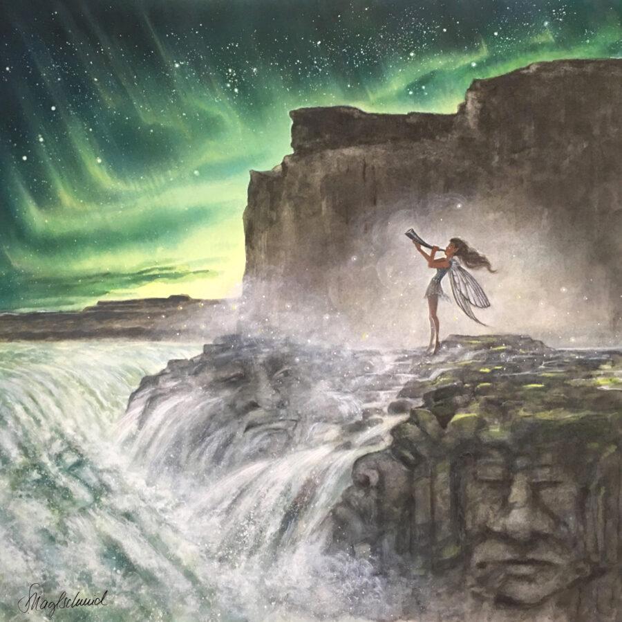 Island -Weckruf • Kunstdruck