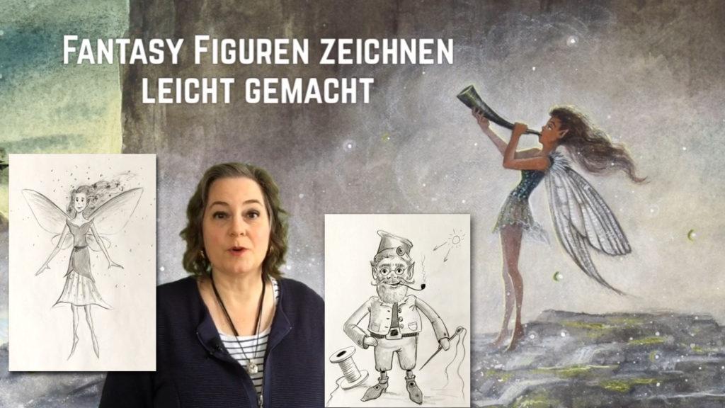 """Workshop """"Fantasy Figuren zeichnen leicht gemacht"""""""