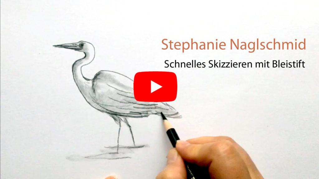 Schnelle Bleistiftskizze - Urban Sketching