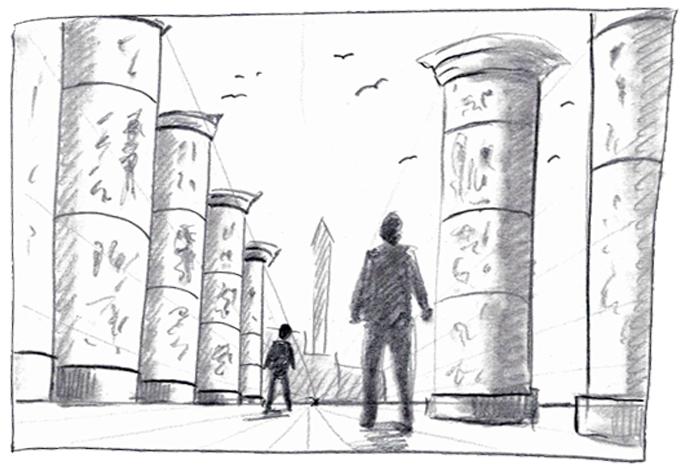 Einfach zeichnen lernen - Teil 5: Perspektivisch Zeichnen leicht gemacht