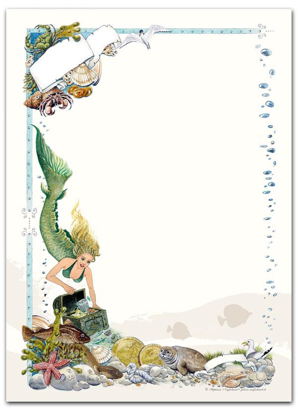 Schreibblock: Mermaids