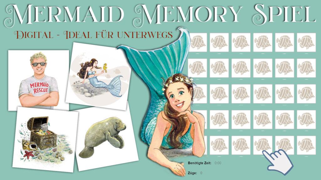 Mermaid Memory Spiel