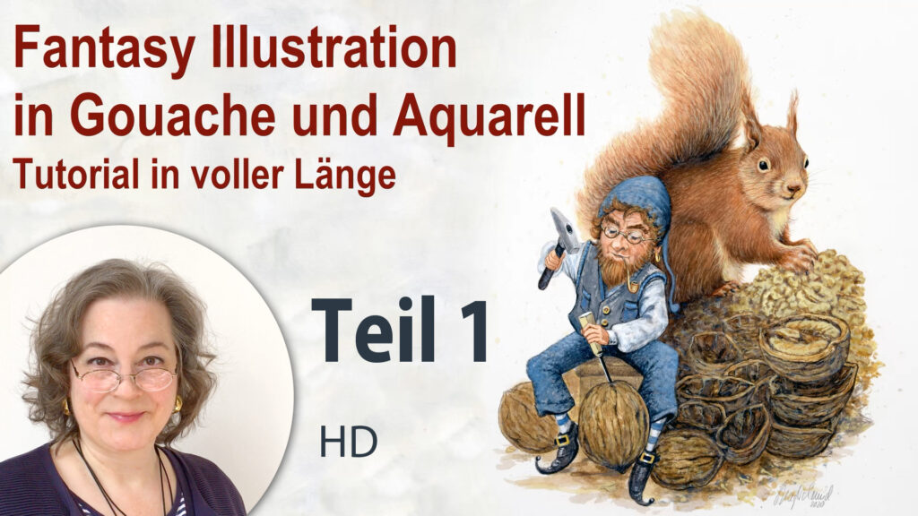 Fantasy Illustration - Teil 1