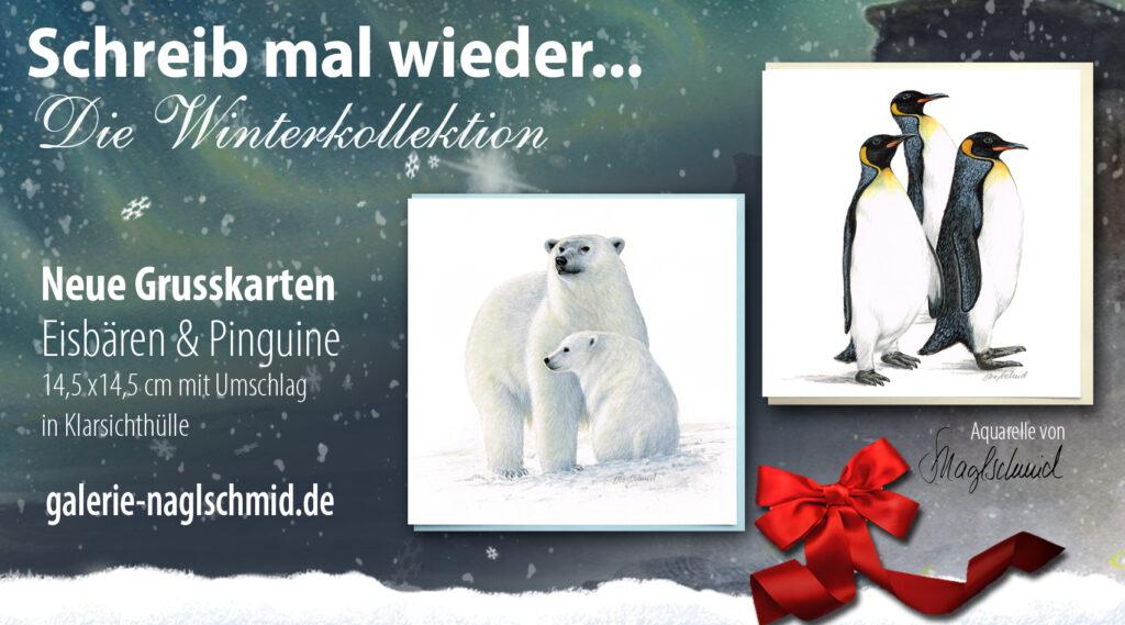 Winterkollektion - Grußkarten
