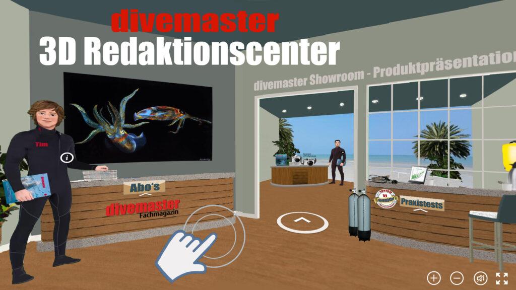 Virtueller 3D-Showroom