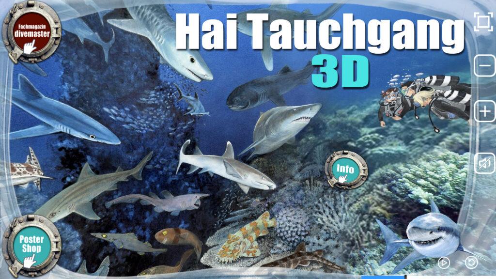 Virtueller Hai Tauchgang